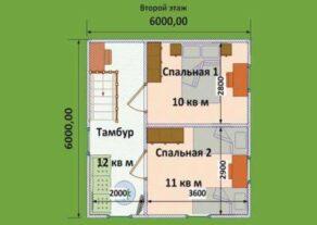 dom-6h6-so-vtorym-polujetazhom-planirovka-2-jetazh.-397x281