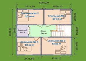 dom-8h8-so-vtorym-polujetazhom-planirovka-vtoroj-jetazh.-397x281