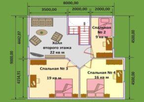 proekt-doma-9-h-11-planirovka-2-jetazha-variant-s-bolshim-hollom.-397x281